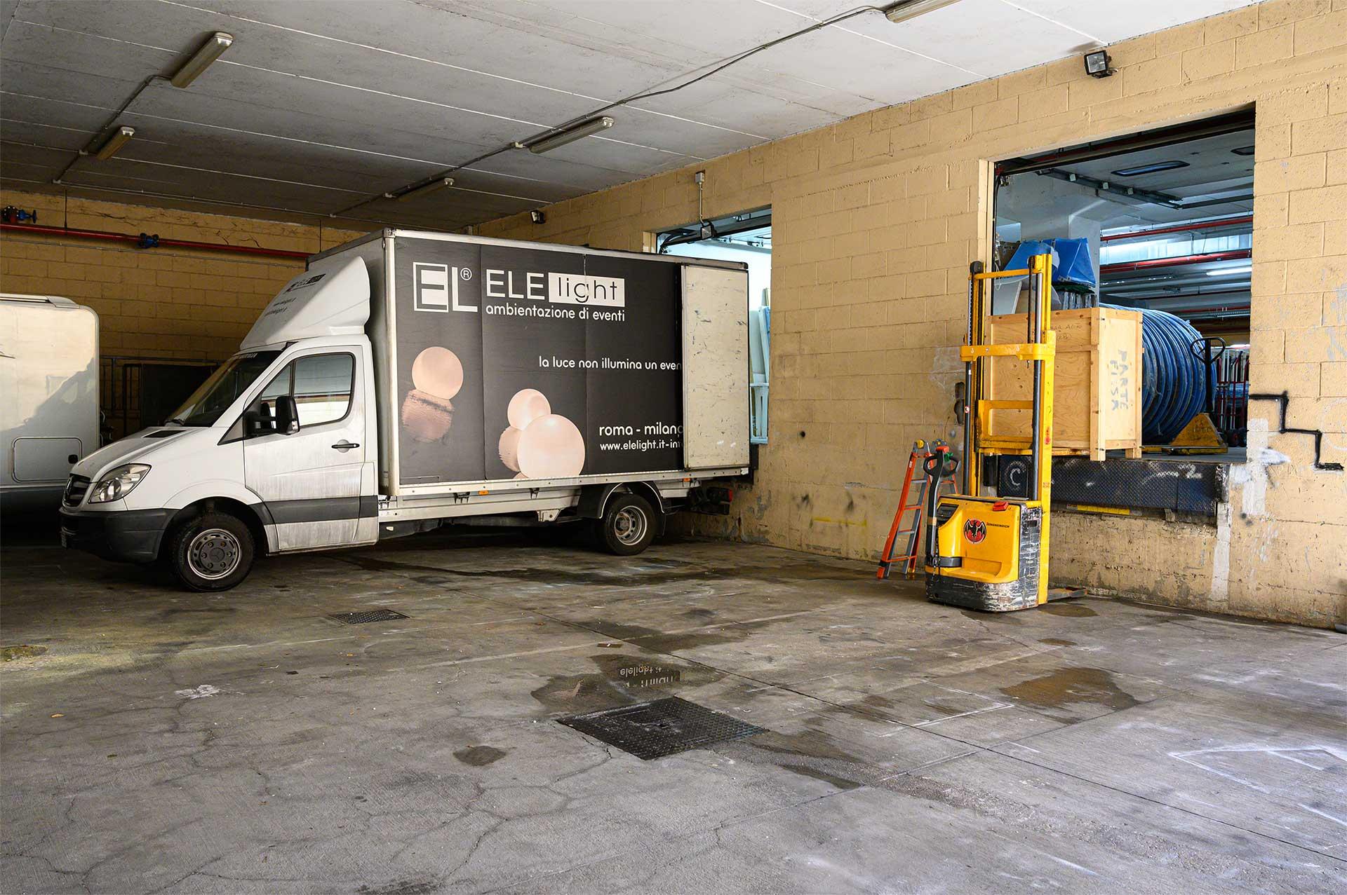 servizi di logistica e magazzinaggio