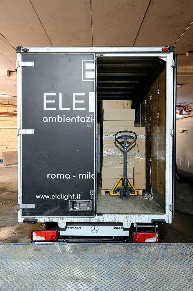 Trasporto Materiale Roma e Milano